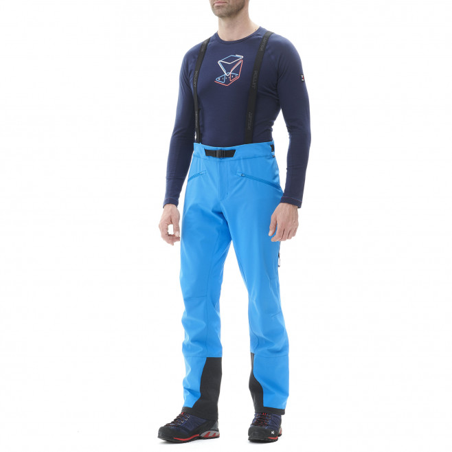 Pantalon coupe vent - homme - bleu NEEDLES SHIELD PANT M Millet 2