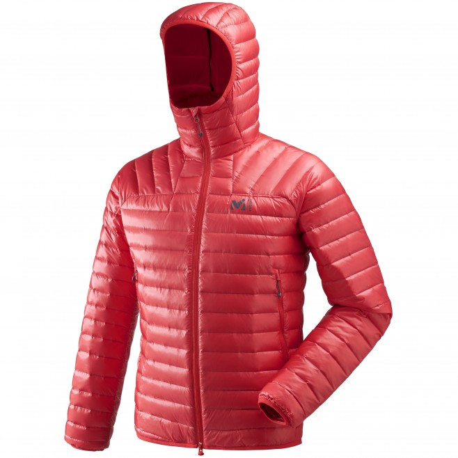 Doudoune homme - alpinisme - rouge K SYNTH'X DOWN HOODIE Millet