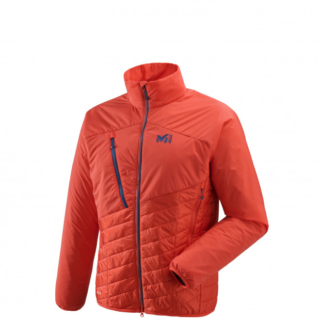 Veste chaude homme - approche - orange Elevation Airjk Orange Millet