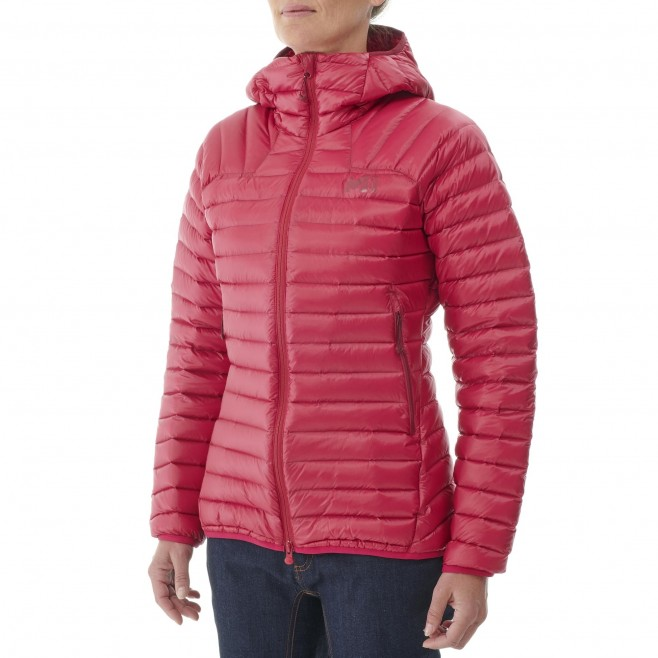Doudoune  - Femme - rouge K SYNTH'X DOWN HOODIE W Millet 2