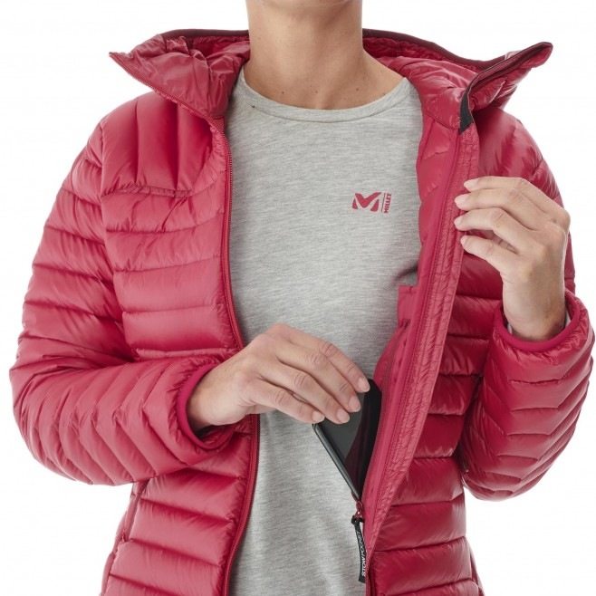 Doudoune  - Femme - rouge K SYNTH'X DOWN HOODIE W Millet 5