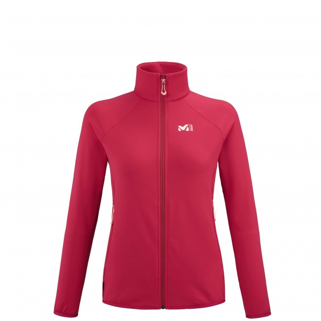 Polaire   - Femme - rouge CHARMOZ POWER JKT W Millet