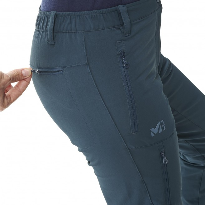 Pantalon coupe vent  - Femme - bleu marine ALL OUTDOOR PT W Millet 4