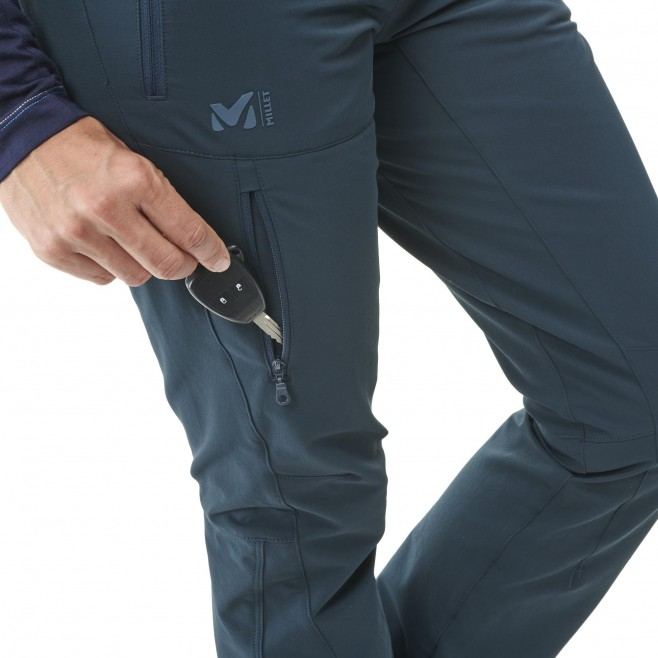 Pantalon coupe vent  - Femme - bleu marine ALL OUTDOOR PT W Millet 5