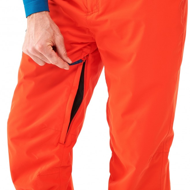 Atna Peak Pant Orange Millet France