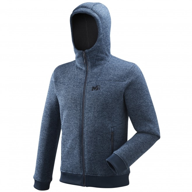 Sweat homme - escalade - bleu marine Sikati Sweat H Ink Millet