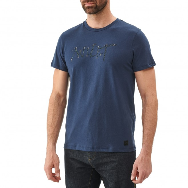 Tee-Shirt manches courtes homme - escalade - gris KALOGRIA TS SS Millet 2