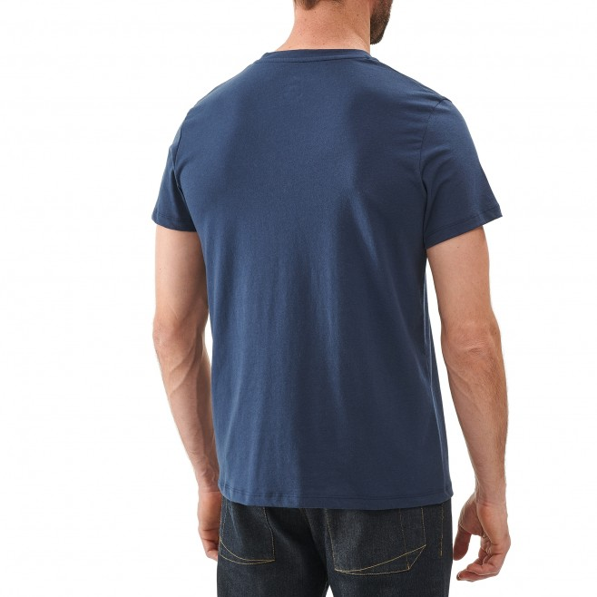 Tee-Shirt manches courtes homme - escalade - gris KALOGRIA TS SS Millet 3