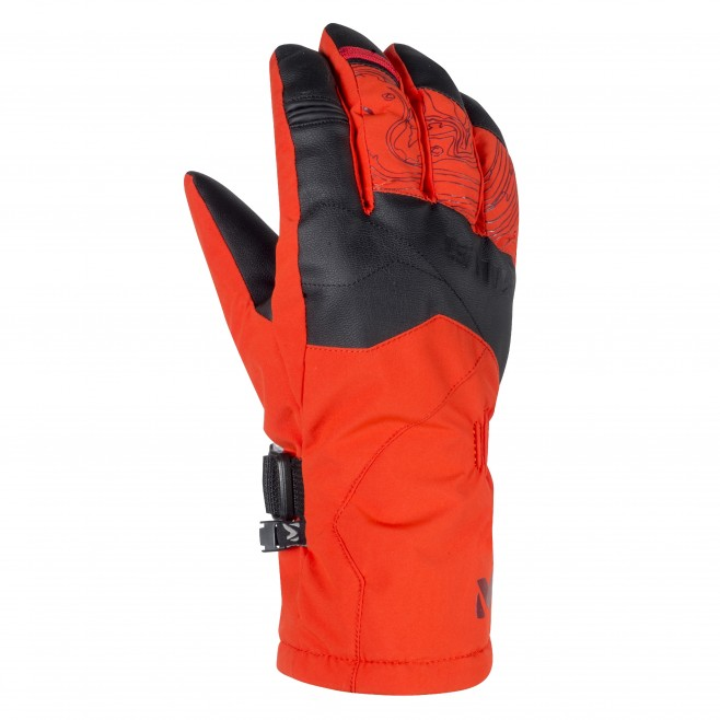 Gants homme - ski - orange ATNA PEAK DRYEDGE GLOVE Millet
