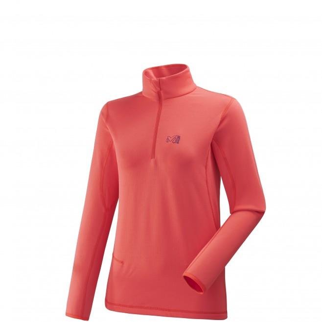 Micro polaire femme - ski - rose LD TECH STRETCH TOP Millet