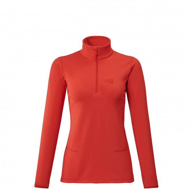 Micro polaire - femme - rouge TECH STRETCH TOP W Millet