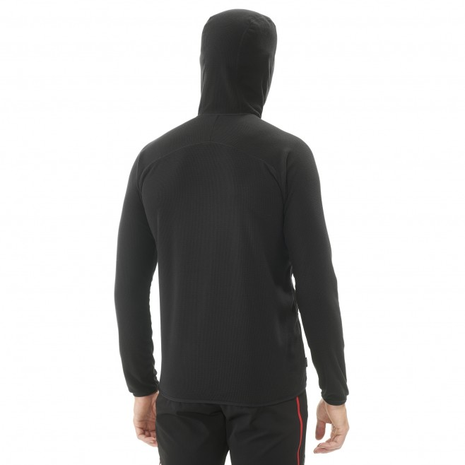 Micro-polaire  - Homme - rouge K LIGHTGRID HOODIE M Millet 3