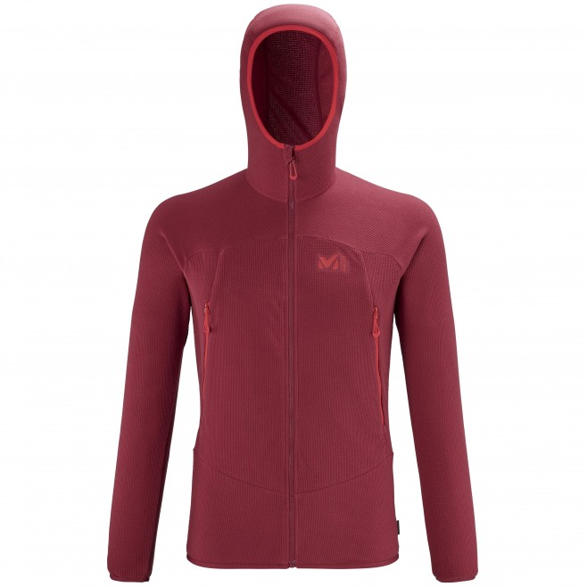 Polaire  - Homme  - rouge K LIGHTGRID HOODIE M Millet