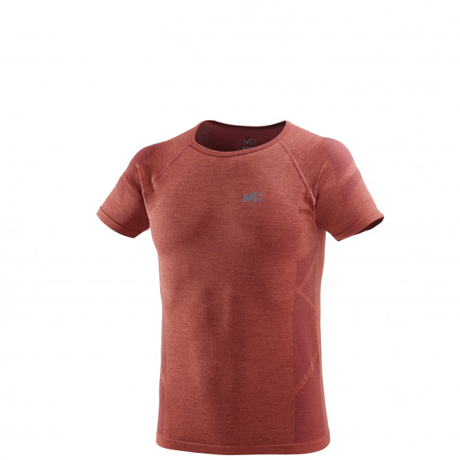 Tee-Shirt manches courtes homme - trail - orange LTK SEAMLESS LIGHT TS SS Millet