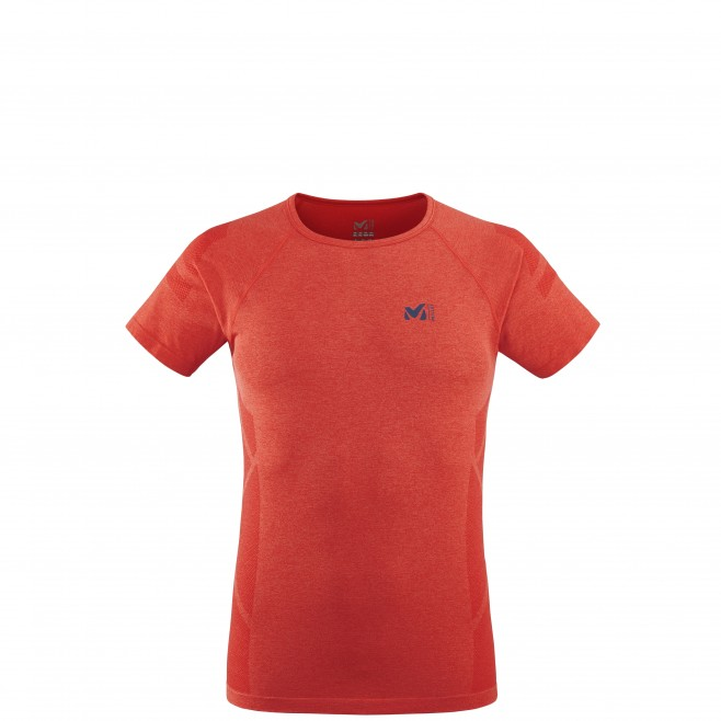 Tee-Shirt - Homme - rouge LTK SEAMLESS LIGHT TS SS M Millet