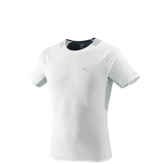 Tee-Shirt manches courtes homme - trail - blanc LTK ULTRA LIGHT TS SS Millet