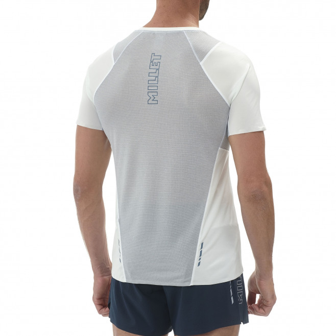 Tee-Shirt manches courtes homme - trail - blanc LTK INTENSE LIGHT TS SS Millet 3