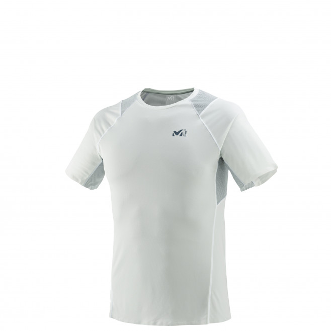 Tee-Shirt manches courtes homme - trail - blanc LTK INTENSE LIGHT TS SS Millet