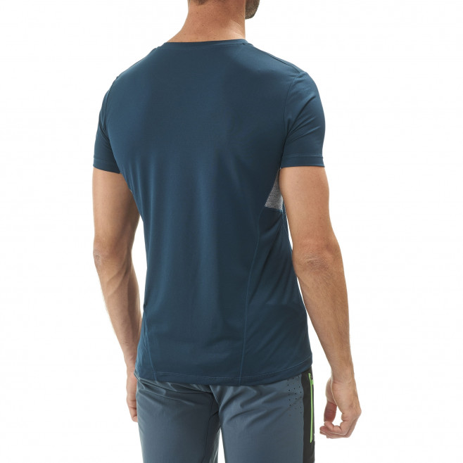 Tee-Shirt manches courtes homme - trail - marine LTK LIGHT TS SS Millet 4