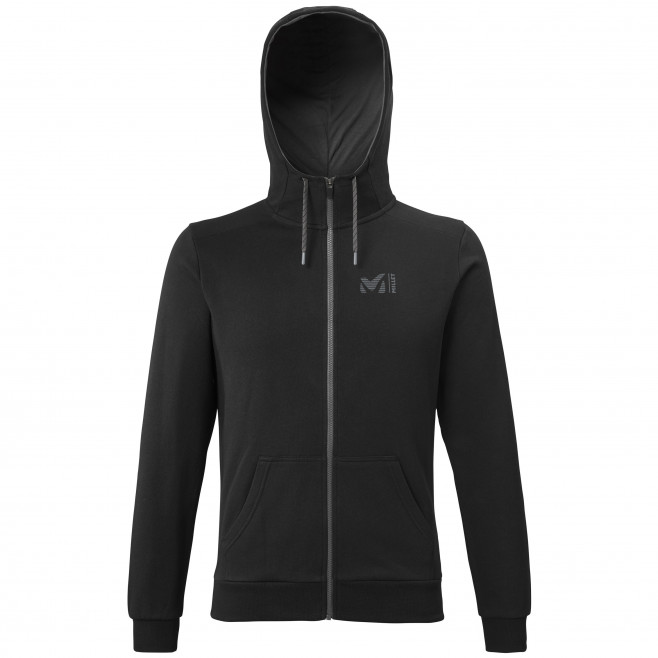Sweat look urbain - homme - noir MILLET SWEAT ZIP HOODIE M Millet