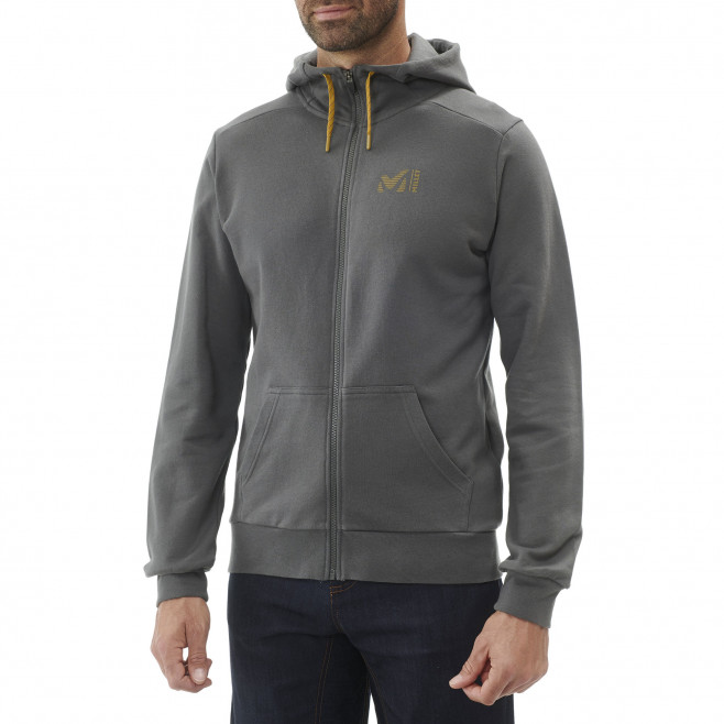 Sweat look urbain - homme - kaki MILLET SWEAT ZIP HOODIE M Millet 2