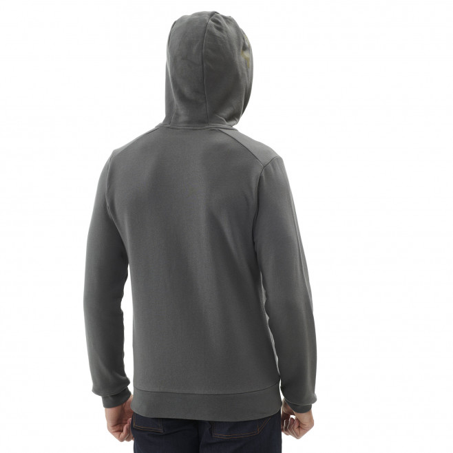 Sweat look urbain - homme - kaki MILLET SWEAT ZIP HOODIE M Millet 3