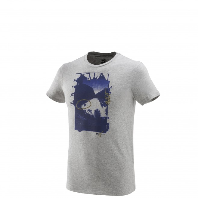 Tee-Shirt manches courtes homme - escalade - gris LIMITED EDITION III TS SS Millet