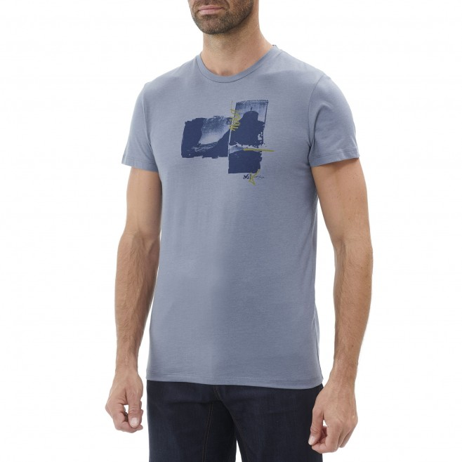 Tee-Shirt manches courtes homme - escalade - bleu LIMITED EDITION III TS SS Millet 2