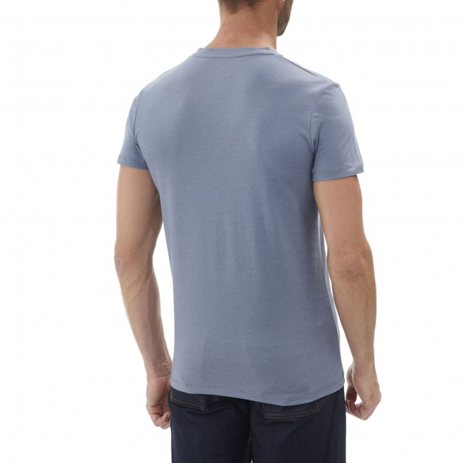 Tee-Shirt manches courtes homme - escalade - bleu LIMITED EDITION III TS SS Millet 3