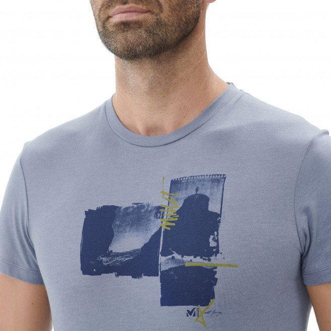 Tee-Shirt manches courtes homme - escalade - bleu LIMITED EDITION III TS SS Millet 4