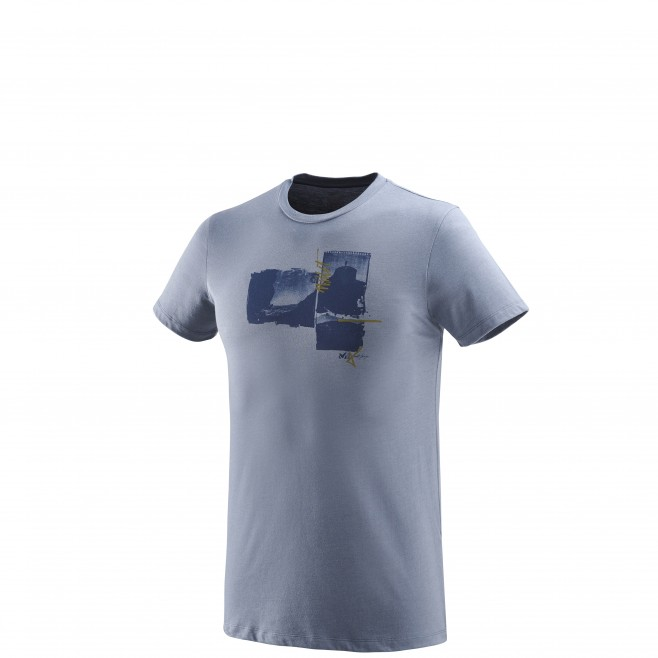 Tee-Shirt manches courtes homme - escalade - bleu LIMITED EDITION III TS SS Millet