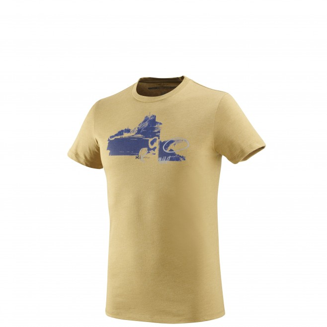 Tee-Shirt manches courtes homme - escalade - jaune LIMITED EDITION III TS SS Millet