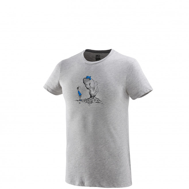 Tee-Shirt manches courtes homme - escalade - gris WAY UP TS SS Millet