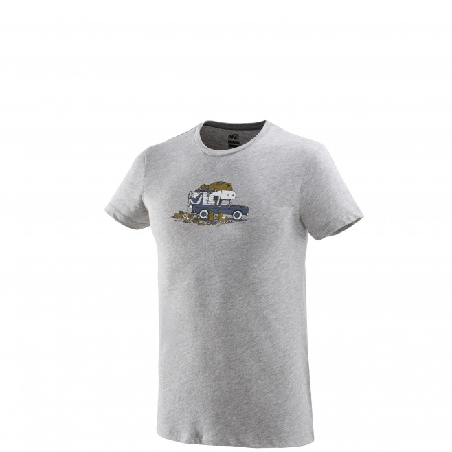 Tee-Shirt - Homme - gris PACK & LOAD TS SS M Millet