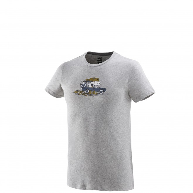 Tee-Shirt manches courtes homme - escalade - gris PACK & LOAD TS SS Millet