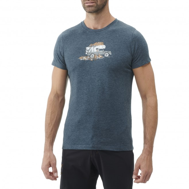 Tee-Shirt manches courtes - Homme - Noir PACK & LOAD TS SS M Millet 2