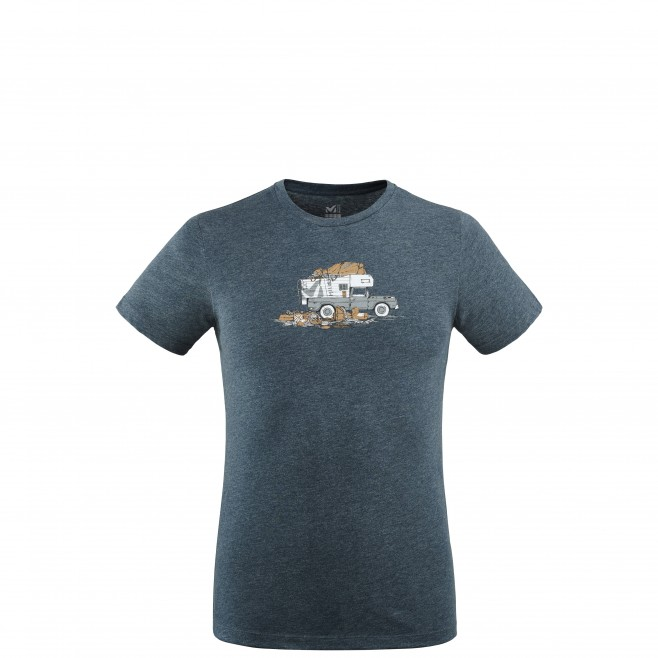 Tee-Shirt manches courtes - Homme - Bleu marine PACK & LOAD TS SS M Millet