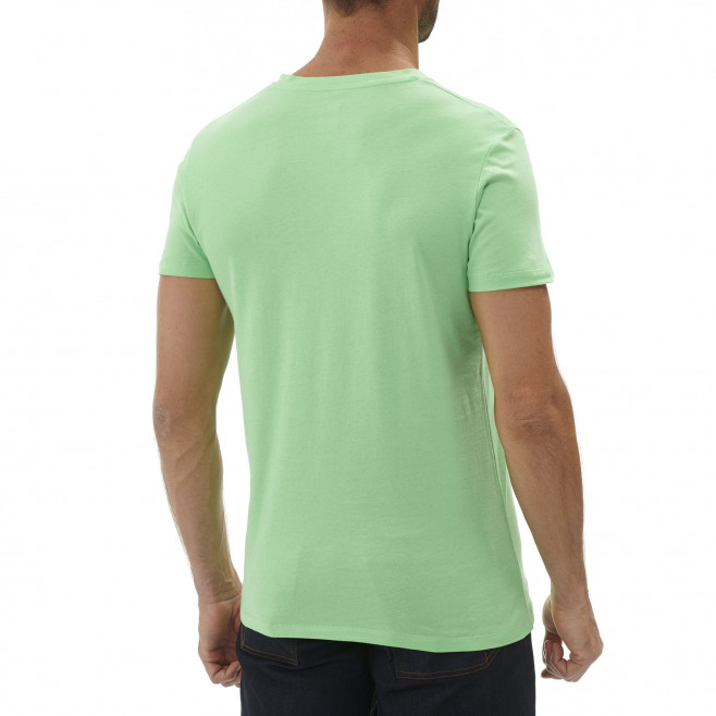 Tee-Shirt manches courtes homme - escalade - vert ON THE LEDGE TS SS Millet 3