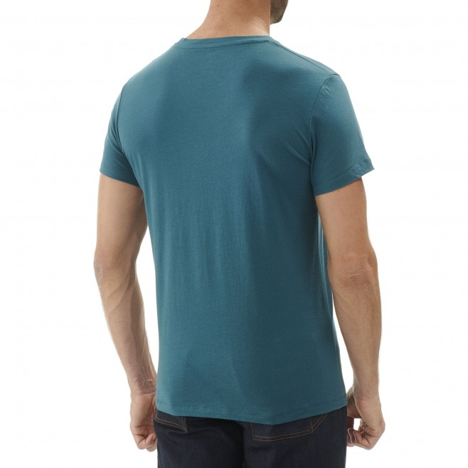 Tee-Shirt manches courtes homme - escalade - gris BOULDER DREAM TS SS Millet 3