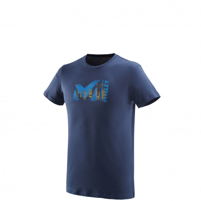 Tee-Shirt manches courtes homme - escalade - marine MILLET PAINT TS SS Millet