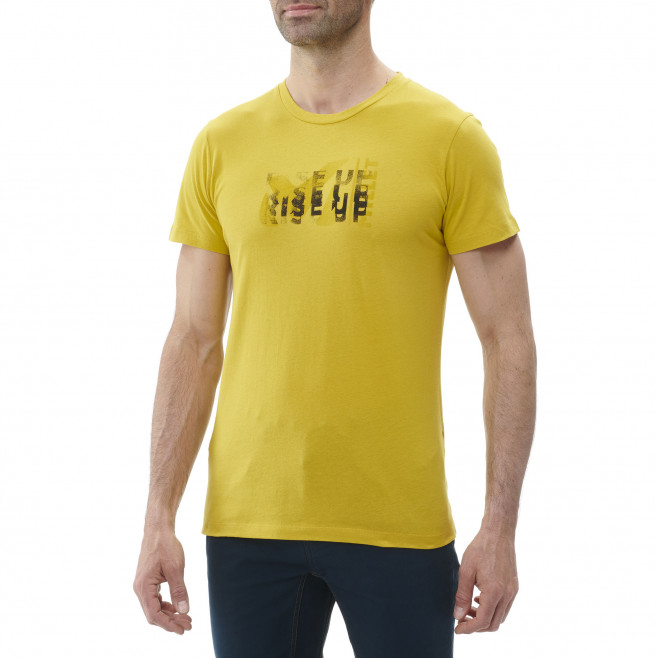 Tee-Shirt manches courtes homme - escalade - vert MILLET PAINT TS SS Millet 2