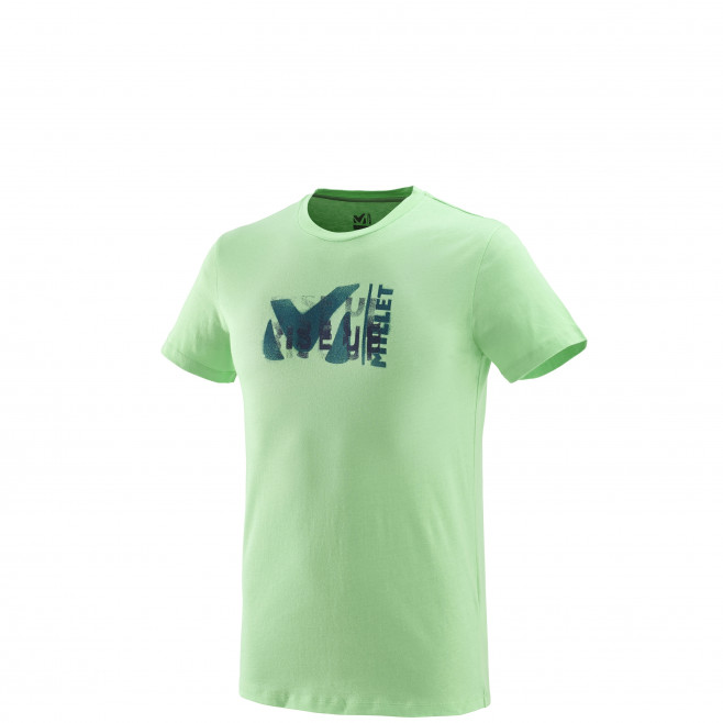 Tee-Shirt manches courtes homme - escalade - vert MILLET PAINT TS SS Millet