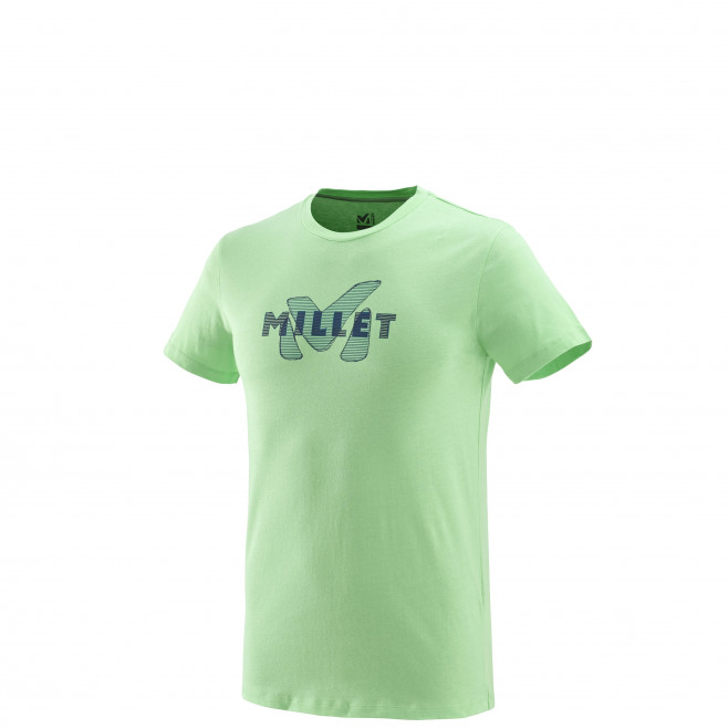Tee-Shirt manches courtes homme - escalade - vert STANAGE TS SS Millet