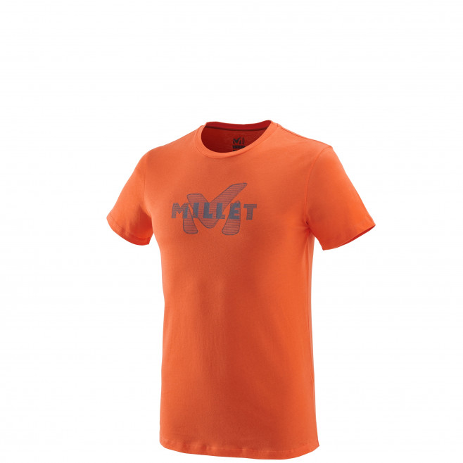Tee-Shirt manches courtes homme - escalade - orange STANAGE TS SS Millet