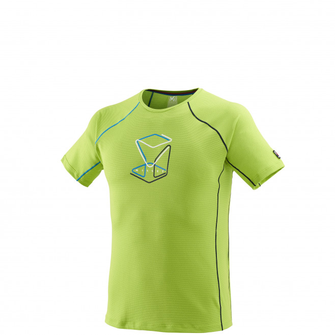 Tee-Shirt manches courtes homme - alpinisme - vert TRILOGY DELTA CUBE TS SS Millet