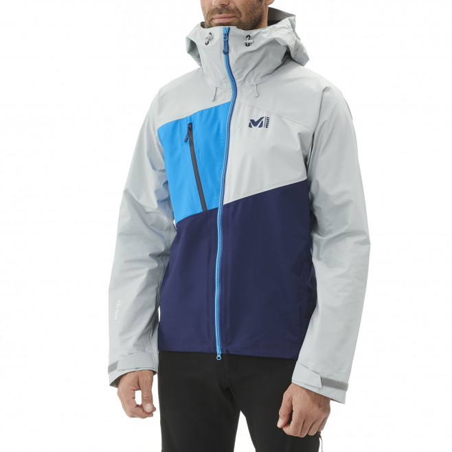 Veste gore-tex homme - alpinisme - bleu ELEVATION ONE GTX ACTIVE JKT Millet 5