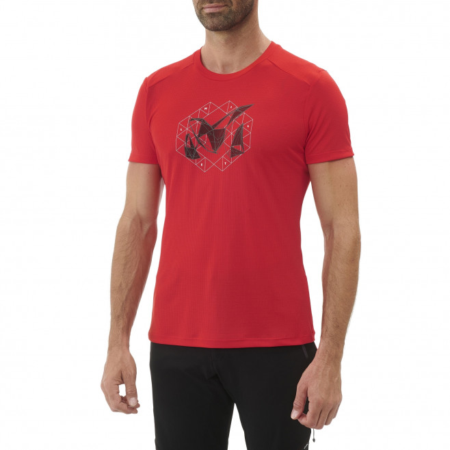 Tee-Shirt - Homme - rouge M LOGO 2 TS SS M Millet 2