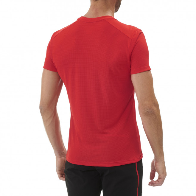 Tee-Shirt - Homme - rouge M LOGO 2 TS SS M Millet 3