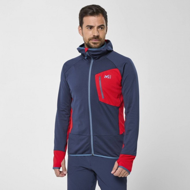 Polaire pour Homme - Bleu marine RUTOR THERMAL HOODIE M Millet 2