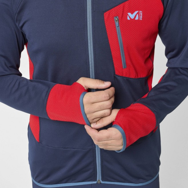 Polaire pour Homme - Bleu marine RUTOR THERMAL HOODIE M Millet 4